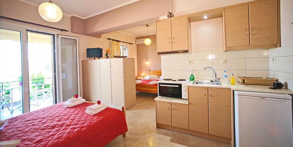 Βαλεντίνα δωμάτια Νικιάνα Λευκάδα