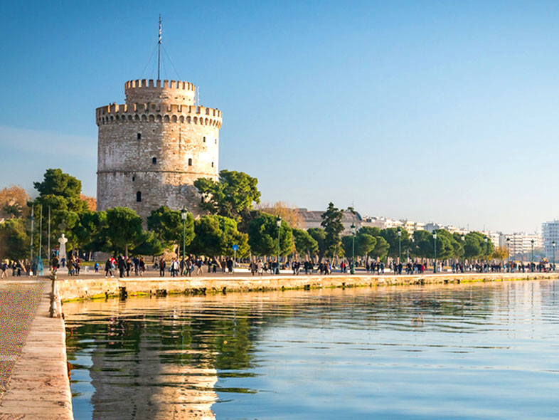 THESSALONIKI, NORTH GREECE