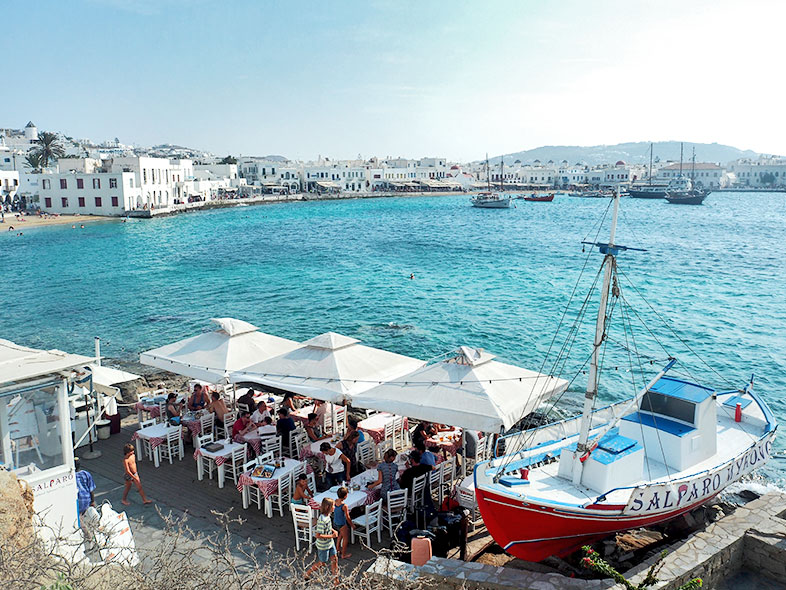 MIKONOS ISLAND, GREECE
